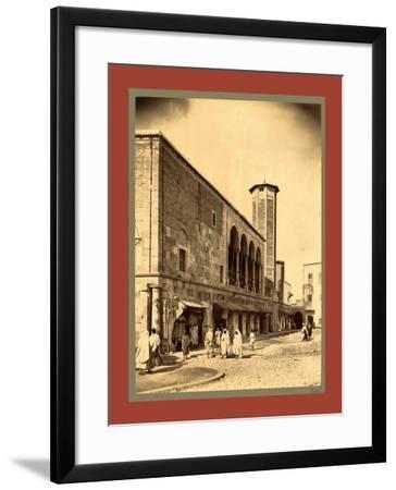 Tunis, Tunisia-Etienne & Louis Antonin Neurdein-Framed Giclee Print