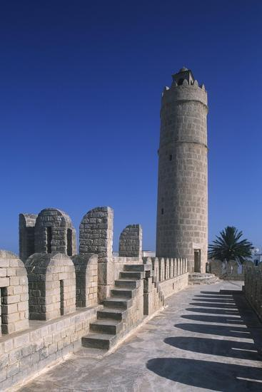Tunisia, Ancient Sousse, Medina, Fortified Religious Building Ribat--Giclee Print
