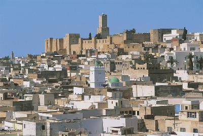 Tunisia - Ancient Sousse. Medina. UNESCO World Heritage List, 1988. 'Ribat' and Kasbah--Giclee Print