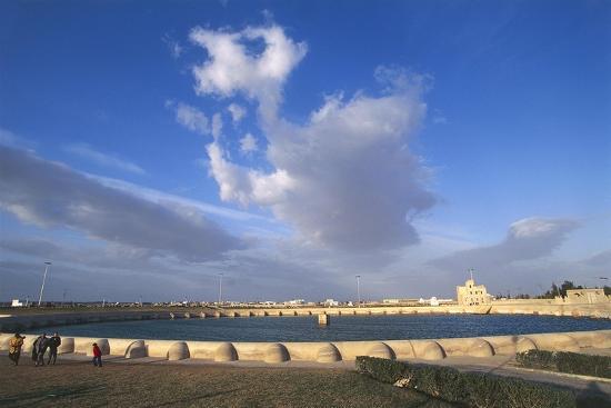 Tunisia, Kairouan, Aghlabid Basin--Giclee Print