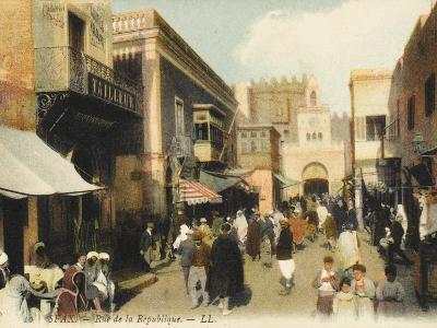 Tunisia - Sfax - Rue De La Republique--Photographic Print