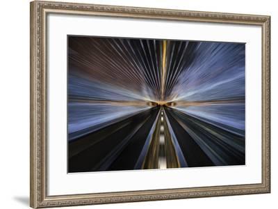 Tunnel Lights-ddmitr-Framed Photographic Print