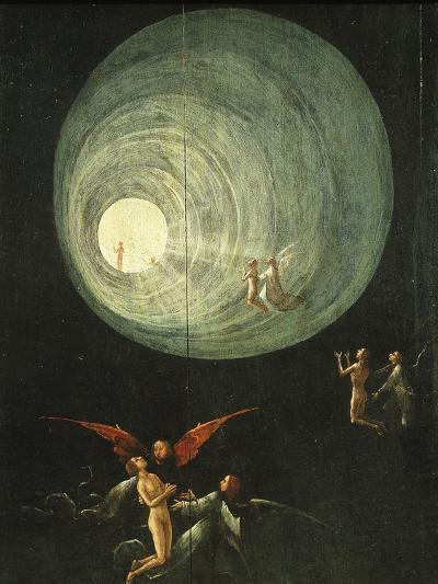Tunnel of Light, from Paradise (Detail)-Hieronymus Bosch-Giclee Print