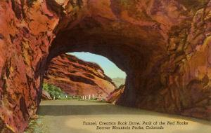 Tunnel, Red Rocks Park, Denver, Colorado