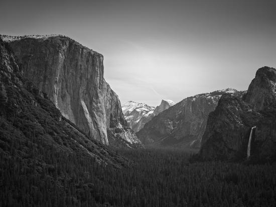 Tunnel View BW 2-Moises Levy-Photographic Print
