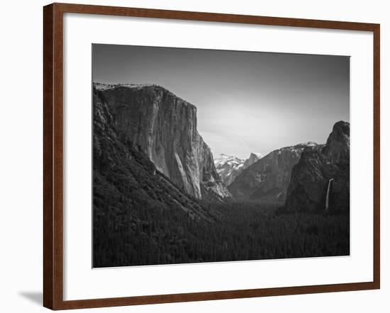 Tunnel View BW 2-Moises Levy-Framed Photographic Print