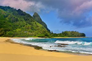 Tunnels Beach, Island of Kauai, Hawaii, USA