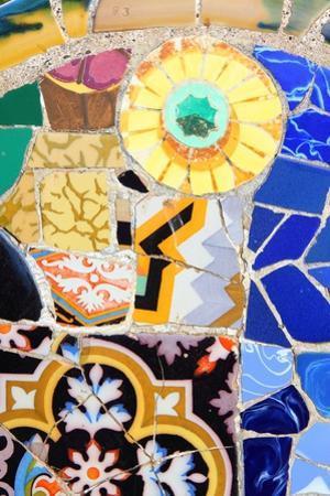 Barcelona Mosaic by Tupungato