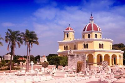 Cuba - the Main Cemetery of Havana. Necropolis Cristobal Colon. Filtered Style Colors. by Tupungato