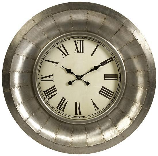 Turbine Aluminum Wall Clock--Home Accessories