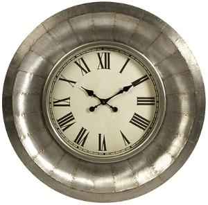 Turbine Aluminum Wall Clock