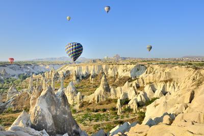 Turchia, Cappadocia, Goreme Voli in Mongolfiera-frenk58-Photographic Print
