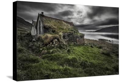 Turf And Stones-Bragi Ingibergsson-Stretched Canvas Print