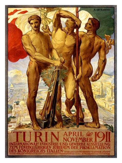 Turin, 1911-Adolfo de Carolis-Giclee Print