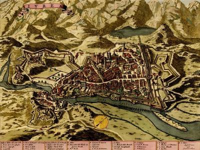 Turin or Torino and its Envisons - 1700-Anna Beeck-Art Print
