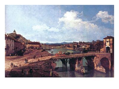 Turin or Torino-Canaletto-Art Print