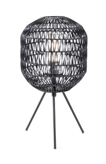 Turin Outdoor Woven Table Lamp--Home Accessories