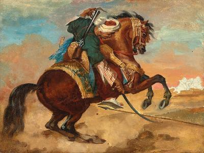 Turk Mounted on Chestnut Coloured Horse, C. 1810-Theodore Gericault-Giclee Print