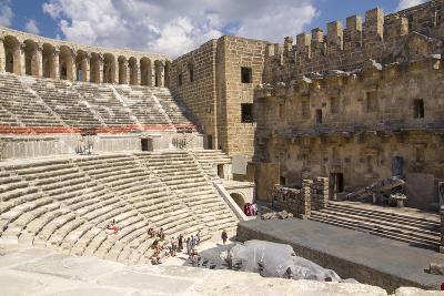 Turkey, Aspendos. Aspendos Theater in Anatolia-Emily Wilson-Photographic Print
