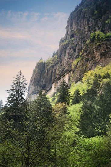 Turkey, Black Sea Region Sumela Monastery Near Trabzon- Bluehouseproject-Photographic Print
