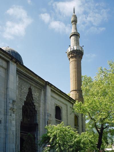 Turkey. Bursa. Yesil Mosque. Ottoman Style. 15th Century. Outside. View--Photographic Print
