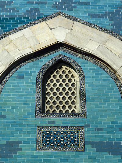 Turkey. Bursa. Yesil Turbe (Green Tomb). Mausoleum of Sultan Mehmed I. Built in 1421. Detail Green---Photographic Print