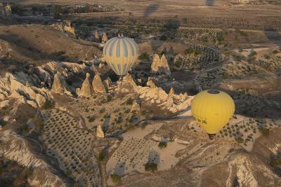 Turkey, Cappadocia. Hot Air Ballooning in Turkey, Goreme Valley, Near Cappadocia-Emily Wilson-Photographic Print
