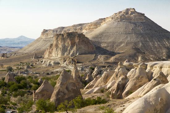 Turkey, Cappadocia Is a Historical Region in Central Anatolia. Fairy Chimneys-Emily Wilson-Photographic Print