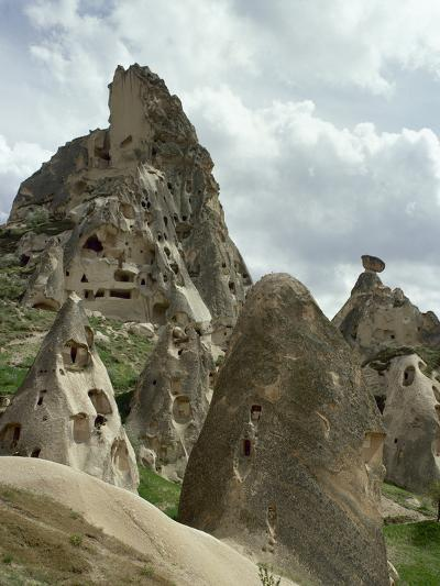 Turkey, Cappadocia, Uchisar, Cave House, Central Anatolia--Photographic Print