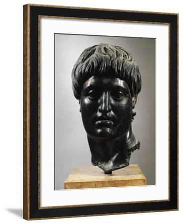 Turkey, Cilicia, Bust of Nero--Framed Giclee Print