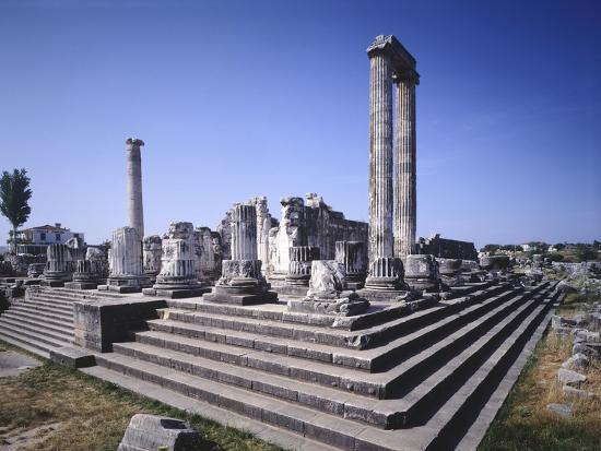 Turkey, Didim, Temple of Apollo--Giclee Print