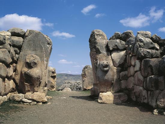 Turkey, Hattusa, the Lions' Gate--Giclee Print