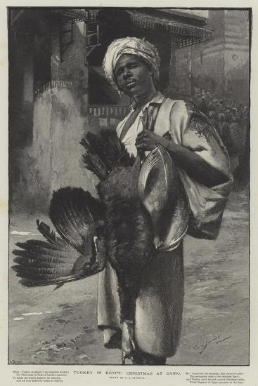 Turkey in Egypt, Christmas at Cairo-George L. Seymour-Giclee Print