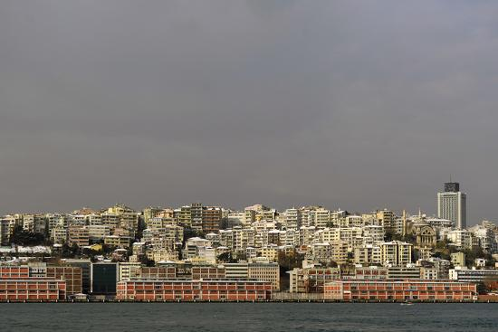 Turkey. Istanbul. Panoramic of District of Beyoglu, on the European Side of City--Photographic Print