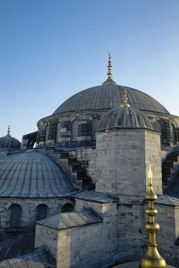 Turkey. Istanbul. Sultan Ahmed Mosque or Blue Mosque.1609-1616. Architect--Photographic Print