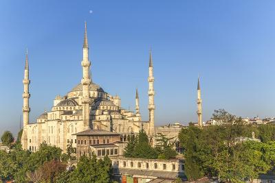 Turkey, Istanbul. the Sultan Ahmed Mosque Is a Historic Mosque in Istanbul-Emily Wilson-Photographic Print