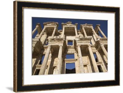 Turkey, Izmir, KUSAdasi, Ephesus. the Library of Ephesus-Emily Wilson-Framed Photographic Print