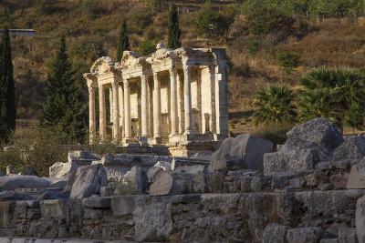 Turkey, Izmir, KUSAdasi. Ephesus, the Temple of Artemis-Emily Wilson-Photographic Print