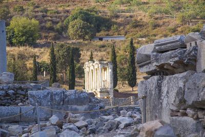 Turkey, Izmir, KUSAdasi. the Ruins of Ephesus-Emily Wilson-Photographic Print