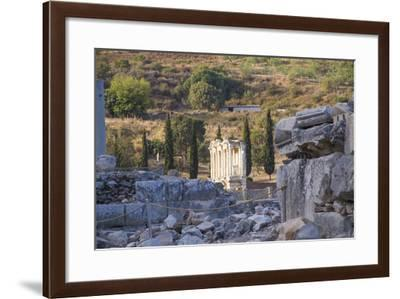 Turkey, Izmir, KUSAdasi. the Ruins of Ephesus-Emily Wilson-Framed Photographic Print