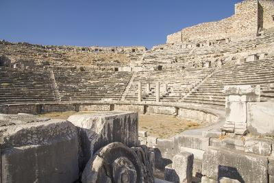 Turkey, the Ruins of Miletus, a Major Ionian Center of Trade and Learning in the Ancient World-Emily Wilson-Photographic Print