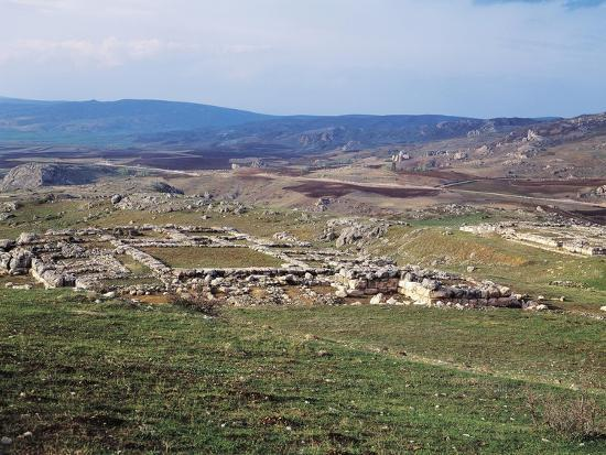 Turkey, View of Hattusa, Ancient Capital of Hittite Empire--Giclee Print