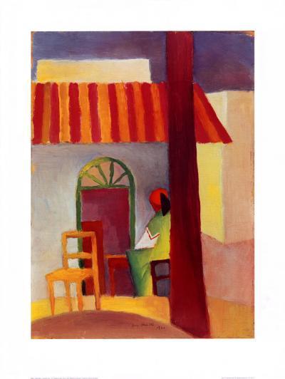 Turkisches Cafe I-Auguste Macke-Art Print