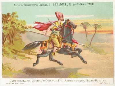 Turkish Bashi-Bazouk, Russo-Turkish War, 1877--Giclee Print