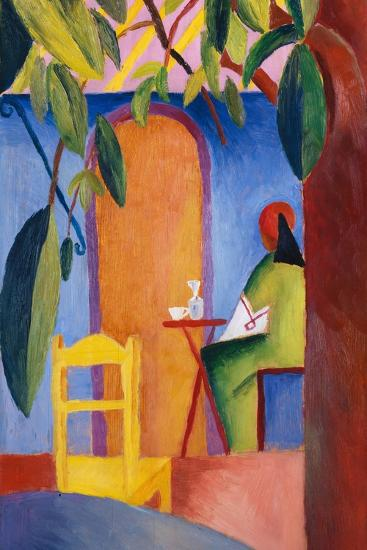 Turkish Cafe-August Macke-Giclee Print