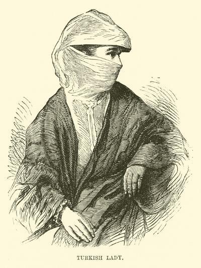 Turkish Lady--Giclee Print