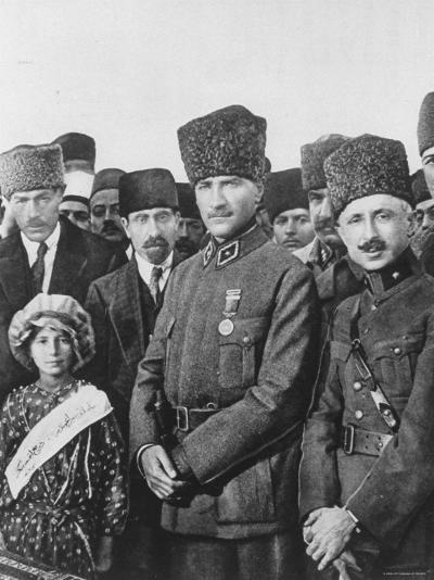 Turkish Leader Mustafa Kemal Ataturk--Premium Photographic Print