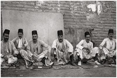 Turkish Money Changers, Baghdad, Iraq, 1925-A Kerim-Giclee Print