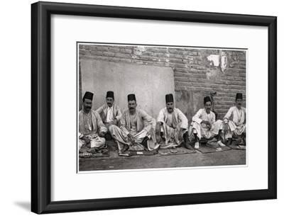 Turkish Money Changers, Baghdad, Iraq, 1925
