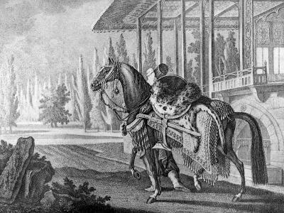Turkish Pasha's Arabian Hack, 1722--Giclee Print